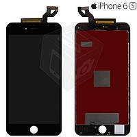 Дисплей + сенсор (touchscreen) для iPhone 6S Plus, с рамкой, черный, оригинал