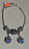 браслет з намистинами в стилі Пандора Сови., фото 2