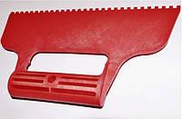 Шпатель пластиковый зубчатый 4х4 мм