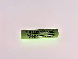 Аккумулятор Bossman Ni-MH HR03/AAA 1.2V 1100mAh
