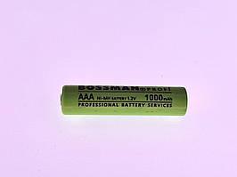 Аккумулятор Bossman Ni-MH HR03/AAA 1.2V 1000mAh