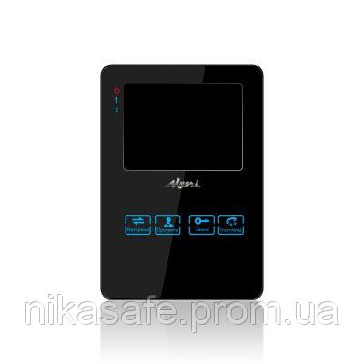 Myers M-42SD Black  цветной видеодомофон