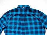 Чоловіча фланелева байкова сорочка в клітку Б/У бренд Next Розмір M/48 Воріт 39, фото 6