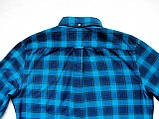 Мужская фланелевая байковая рубашка в клетку Б/У бренд Next Размер M/48 Ворот 39, фото 6