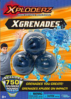 Детские игрушечные бомбочки Xploderz XGrenades