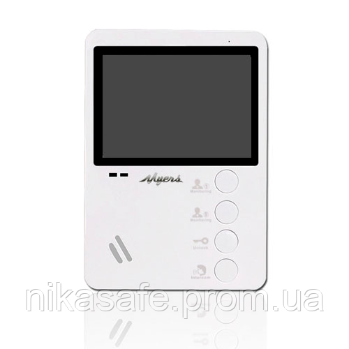Myers M-43 White  цветной видеодомофон