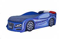 Кровать машина AUDI 155*70 см полиция