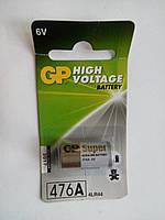 Батарейка GP BATTERIES 476A  LR44  6V Алкалиновая (щелочная);возможен безнал