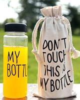 Бутылка для напитков My Bottle 500 мл с чехлом 360