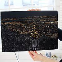 Картина гравюра Lago Нью-йорк (SKR-05) 41х29 см