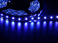 Світлодіодна стрічка 5050 60 LED синя 10.0-12.5 Lm/LED IP33