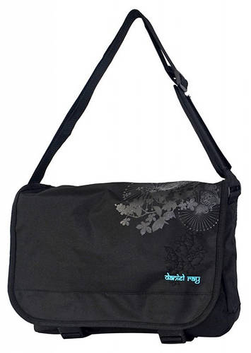 Комфортная молодежная сумка Daniel Ray полиэстер 43,557000 черная