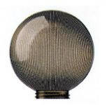 Парковый светильник Шар 250 дымчатый