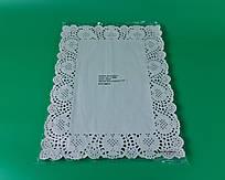 Салфетка кондитерская бумажная прямоугольная,  36х45(100шт) (1 пач)