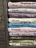 Велюровый Комплект постельного белья  Узор Барокко  двухсторонний Лиловый - молоко, фото 5