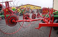 Грабли ворошилки 4-ох колесные Agromech (Польша)