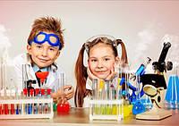 Домашняя лаборатория с детскими наборами для опытов и экспериментов!
