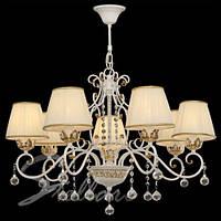 Люстра 7-ми ламповая, с абажурами, классическая