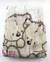 Дитячий плед ковдру Туреччина для новонародженого подарунок рожевий (НДП49)
