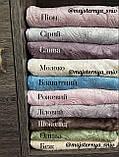 Велюровый Комплект постельного белья  Узор Барокко  двухсторонний Пион - Серый, фото 3