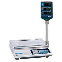 Весы торговые электронные со стойкой CAS AP-M (6кг.15кг.30кг)