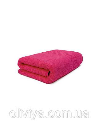 Рушник для обличчя 50х90 малиновий, фото 2