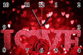 """Настінні годинники """"LOVE"""""""