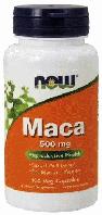 Мака перуанская, NOW Foods, Maca, 500mg, 100 caps
