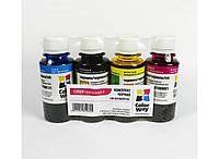 Набор чернил повышенной светостойкости ColorWay CW-EU100SET C / M / Y / BK (4x100 ml) (CW-EU100SET01) (Совмест