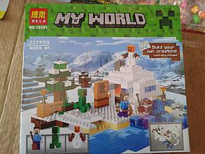 Конструктор Bela Minecraft 10391 Снежное укрытие, фото 2