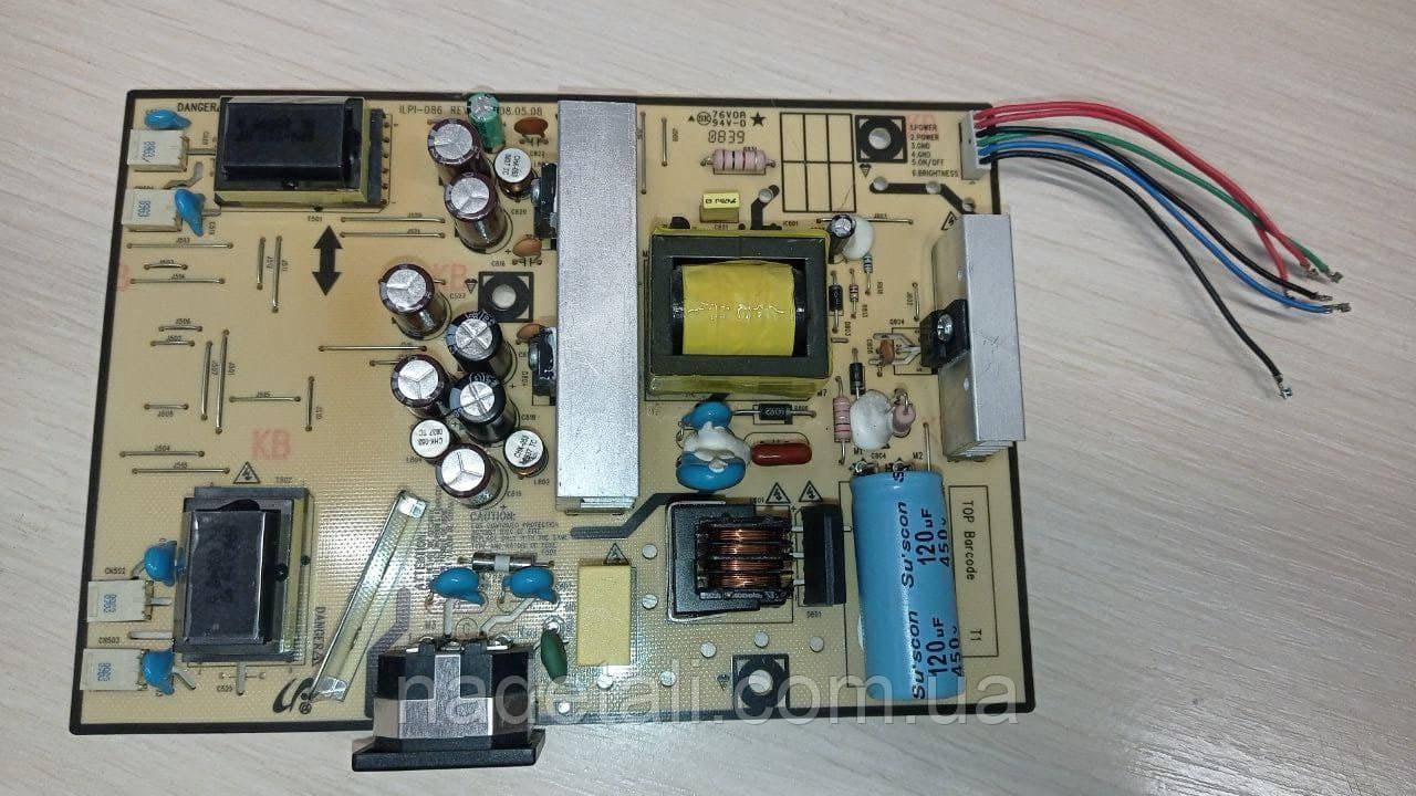 Плата блок живлення Samsung 2223NW LS22HANKSUEDC ILPI-086 REV:A