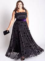 Выбор вечернего платья для дам с пышными формами