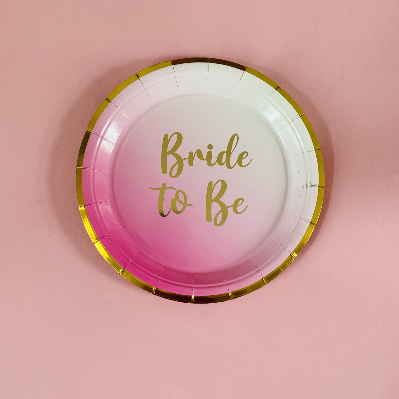 Набор тарелок Bride to Be 10 шт