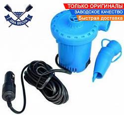 Электронасос Турбинка SGP 12В для надувной лодки ПВХ быстрая накачка и спуск воздуха