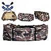 Сумка для лодки 100х40х42 см транспортировочная сумка для надувной лодки типоразмера от 250 до 290 синяя, фото 4