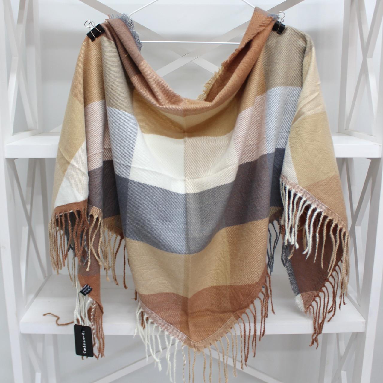 Кашеміровий платок-косинка Cashmere 216006