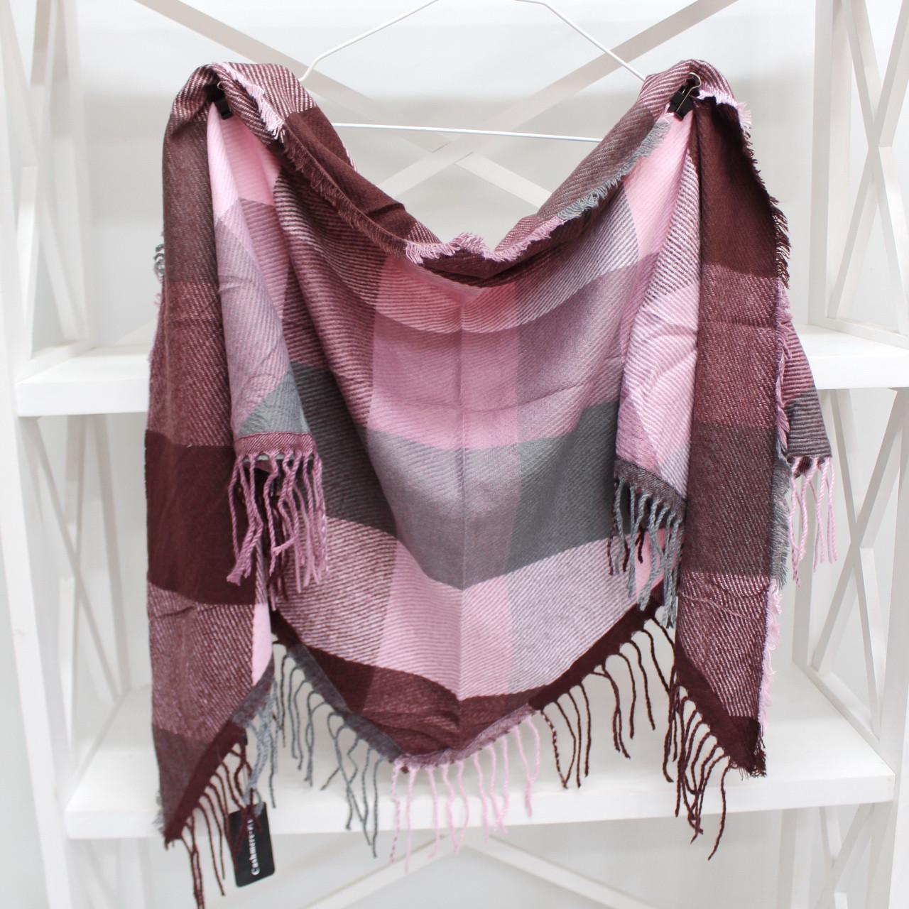 Кашеміровий платок-косинка Cashmere 216007