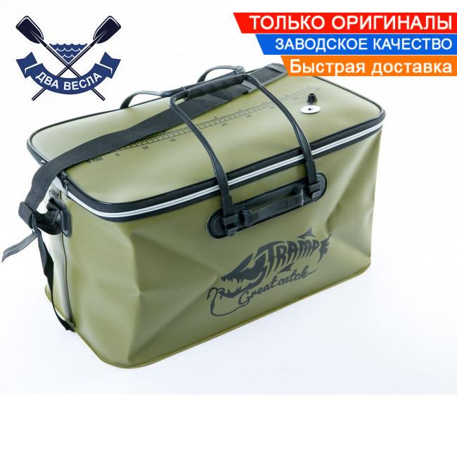 Рыболовная сумка Fishing Bag EVA Avocado M на 28 л, 45*25*25 см, водонепроницаемая молния