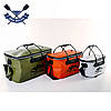 Рыболовная сумка Fishing Bag EVA Avocado M на 28 л, 45*25*25 см, водонепроницаемая молния, фото 3