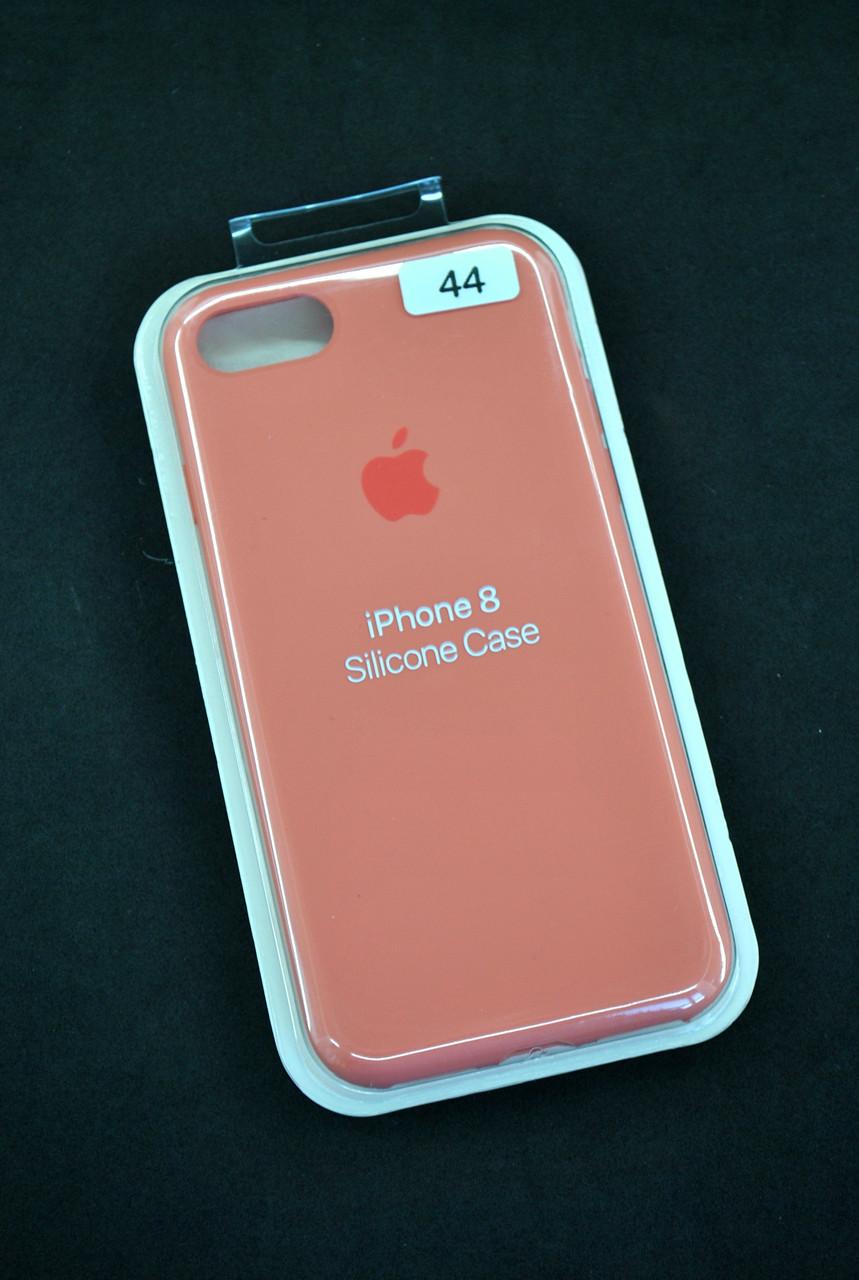 Чохол для телефону iPhone 7 /8 Silicone Case original FULL №44 pale peach (4you)