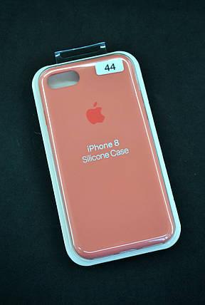 Чохол для телефону iPhone 7 /8 Silicone Case original FULL №44 pale peach (4you), фото 2
