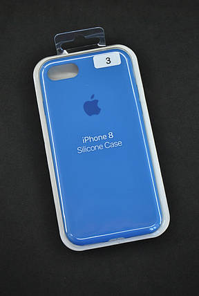 Чехол для телефона iPhone 7 /8 Silicone Case original FULL №3 iris (4you), фото 2