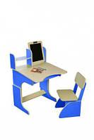 Парта Финекс с мольбертом растущая + стульчик, 3 цв.