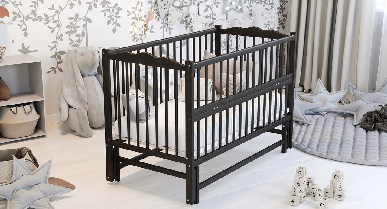 Ліжко дитяче Дубик-М Веселка з маятником венге
