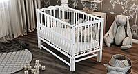 Кровать детская Дубик-М Веселка с маятником белая