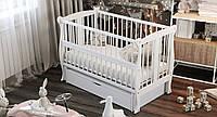 Кровать детская Дубик-М Грация с ящиком белая, фото 1