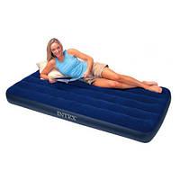 Односпальный надувной матрас Intex 68950