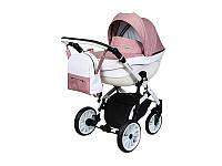 Детская коляска 2 в 1 Angelina Amadeo нежно-розовая color 8