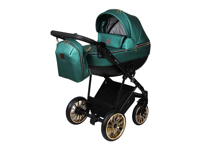 Дитяча коляска 2 в 1 Angelina Kapris Luxury смарагдова color 10