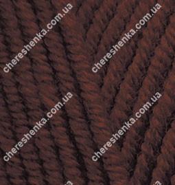 Нитки Alize Lanagold Plus 26 коричневый